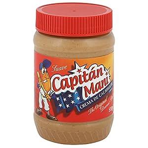 Capitán Maní Crema De Cacahuete Suave 510 Gramos 510 g