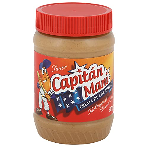 Capitán Maní - Crema de Cacahuete Suave, 510 gr