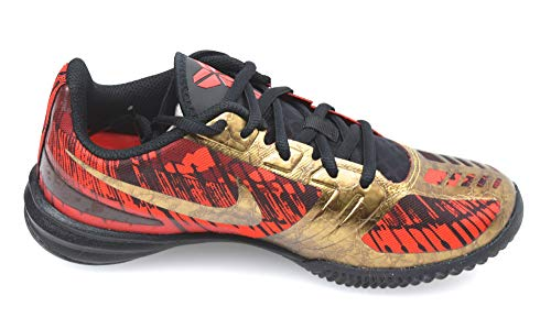Nike UOMO DONNA UNISEX SCARPA SNEAKER CASUAL ART. KB MENTALITY 704942 008 38,5 EU - 6 USA - 5,5 UK ROSSO/ORO/NERO - RED/GOLD/BLACK