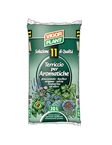VIGORPLANT Terriccio per Piante aromatiche 20 lt