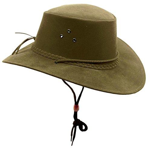 Kakadu The Soaka Chapeau de soleil d'été en microfibre légère - Vert - Small