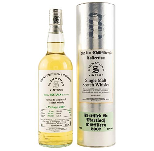 Mortlach 2007-12 Jahre - Signatory Vintage Un-Chillfiltered Collection 46%