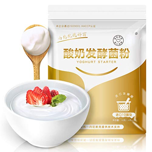 Haplws Cultivos iniciadores de Yogur Lactobacillus Fermentación en Polvo Probiótico Levadura Acidophilus Yogurt Suministros de Yogurt casero