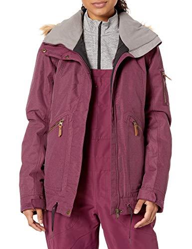 Roxy SNOW Women's Meade Jacket, grape wine, XL