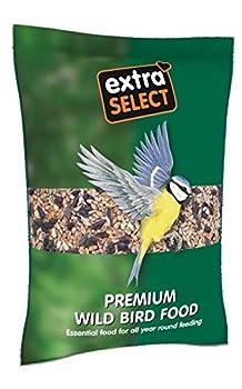 Extra Select Premium Nourriture pour Oiseaux Sauvages, 2kg