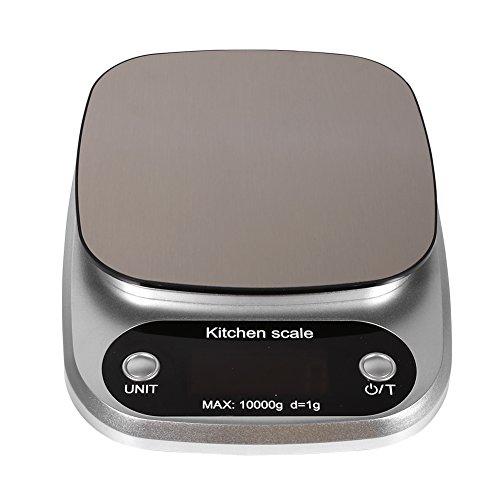 Fdit keukenweegschaal, 10 kg/g, digitaal lcd-display, elektronische keuken, koken, levensmiddelen, sterven, berekening, gewichting, schaal balans