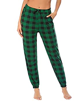 Best green plaid pajama pants Reviews