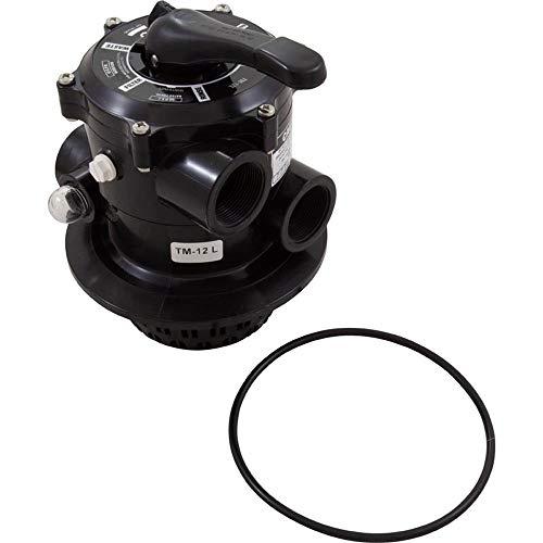 Praher 6 Wege Top Mount Ventil mit O-Ring schwarz Rückspülventil V6 ND TM12