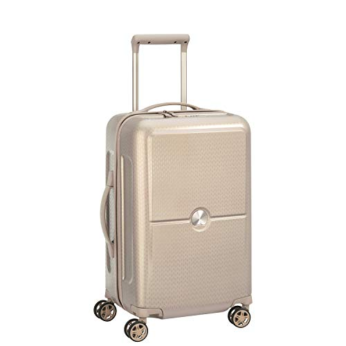Delsey Paris Turenne Suitcase, 55 cm, 37.7 liters, Gold