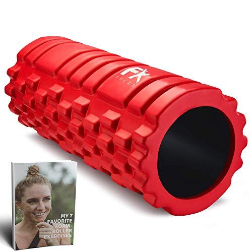 Foam Roller - Rodillo de Espuma para Terapia de Masaje – Para Masajes Muscular Fitness Pilates Yoga - La Mejor Herramienta para Deportivo - Tejido Profundo Liberación Miofascial y Alivio de Dolores