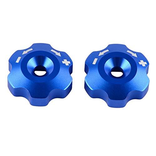GZMYDF 48mm Stoßdämpfer vorne Gabel Knob Einstellbolzen for KTM SX SXF EXC XCW 150 250 350 125 450 530 690 Duke Enduro SMC Supermoto R (Color : Sky Blue)