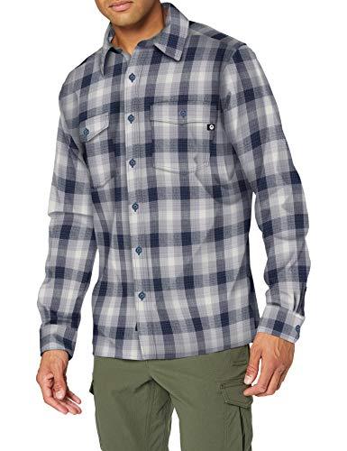 MARMOT Movatn Heavyweight Flannel Long Sleeve Shirt Dark Indigo XL