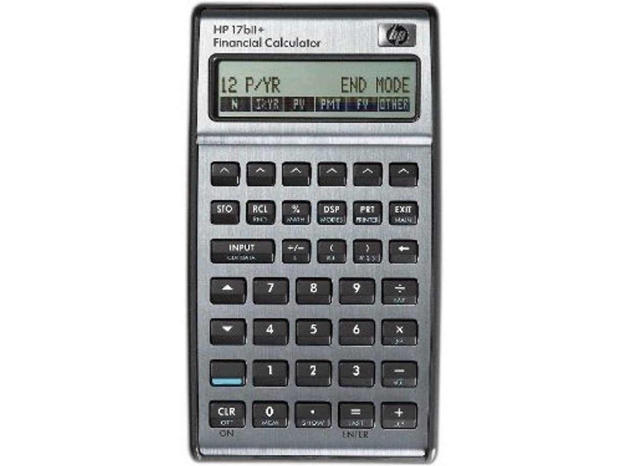 富利得繕うHP 17bii +金融電卓f2234aa 17biipl