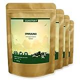 Sanutra Spirulina-Presslinge 4000 x 250 mg Tabletten, ohne Zusätze, rückstandskontrolliert, 4 x 250 g