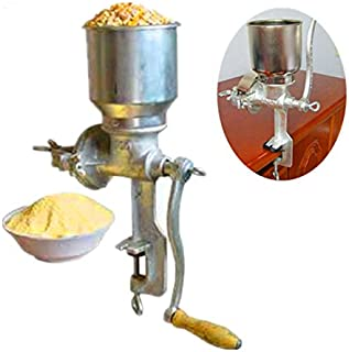 ZNXZZ Multifunction Corn Flour Mill Machine Home use Manual Maize Rice Soybean Peanut Coffee Cocoa Beans Grain Grinder