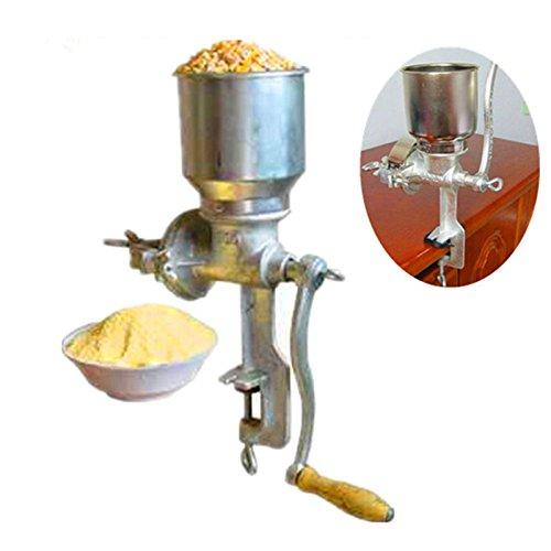 potente para casa ZNXJJ Molino de maíz Máquina multifuncional para el hogar Uso manual Soja Maíz Arroz Cacahuetes…