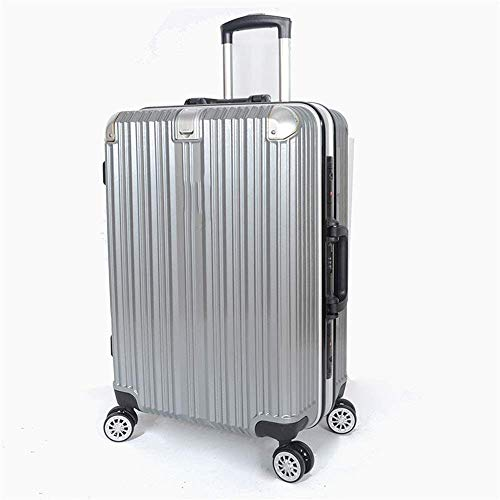 SMX 20 Inch en 24 Inch Uitbreidbare Dragen Op Bagage, Metalen Hoek Aluminium Frame Reistas Trolley Suitcase/Spinner Wielen Lichtgewicht en Duurzaam