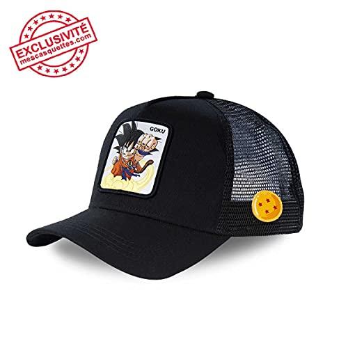 Capslab Gorra Dragon Ball Goku Negra