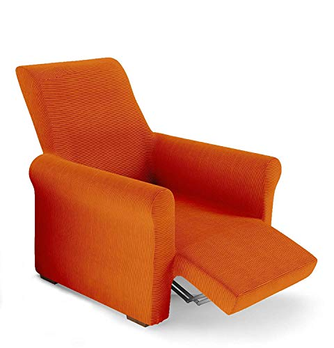 PETTI Artigiani Italiani Naranja, Relax, Funda Sillon Elastica, 100% Made in Italy, 80 a 100 cm