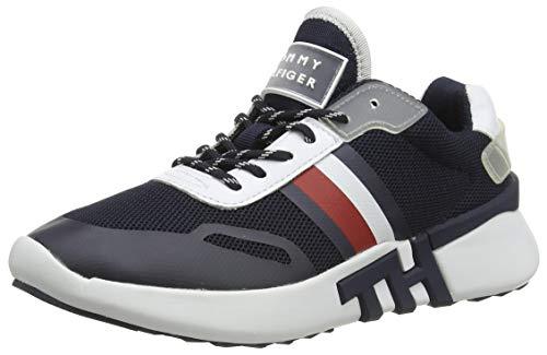 Tommy Hilfiger Damen Tommy Sporty Runner Sneaker, Blau (Desert Sky Dw5), 37 EU