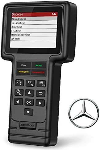 thinkcar Thinkscan OBD2 Scanner for Mercedes Benz Sprinter Smart Full System Professional Code product image