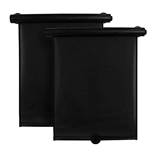 Bebe Style Car Window Shade, Deluxe Roller Shades, Car Sunshades for Babies...