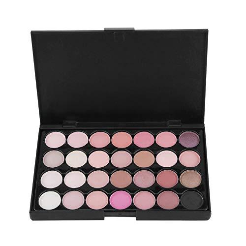 Nowakk POPFEEL Professionelle Frauen Wasserdichte Make-Up Lidschatten-Palette Cosmetice 28 Farben Lang anhaltende Schönheit Lidschatten