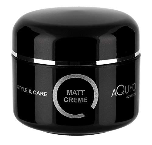 Style & Care Matt Creme Paste für natürliches Styling & Finish (100ml) | Haarwachs für Männer starker Halt | Haarcreme für den perfekten Matt Look