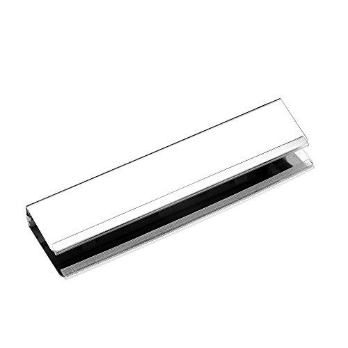 Bach LED Glasbodenleuchte 100mm – [Glasbodenbeleuchtung, Vitrinenbeleuchtung, Schrankbeleuchtung, Beleuchtung für Vitrine, Regal, Wohnzimmer, Glasbeleuchtung] (Kaltweiß) (Nur die Leuchte)