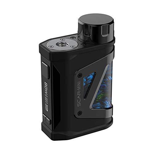 Originale SMOK SCAR-MINi MOD 80W Cicatrice Mini Box Mod sigaretta elettronica Cigarette Vape Power da 18650 Batteria OLED Vaporizzatore impermeabile