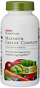 GNC SuperFoods Maximum Green Complete 90 Tablets