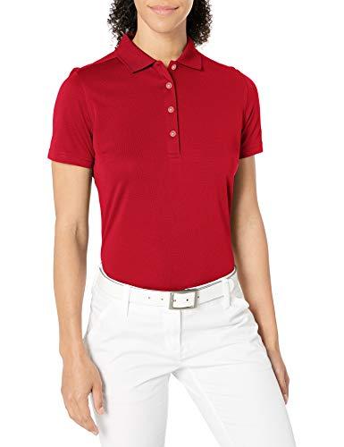 Callaway Opti-Dri Core Performance Poloshirt für Damen, kurzärmelig, Damen, Chili Pepper, X-Large