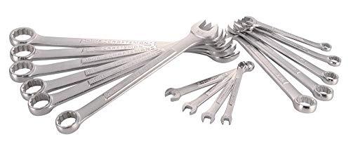 Craftsman CMMT12067 – Juego de llaves combinadas SAE (15 piezas)