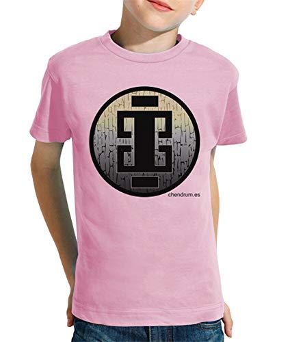 latostadora - Camiseta Tribe para Nino y Nina Rosa M