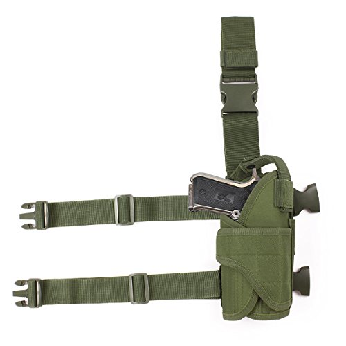 Gexgune 600D Tactical Oculto mag Holster Funda para Revista Militar Bolsa Impermeable Cintur/ón Cintur/ón Bolsa Portador Bolsa Estuche para Caza