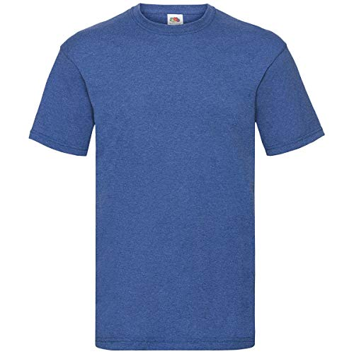 Fruit of the Loom - T-Shirt 'Valueweight T' / Retro Heather Royal, M