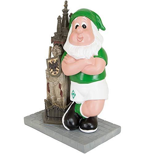 Werder Bremen Gartenzwerg Roland (16,5 x 10,5 x 24cm, Multi)