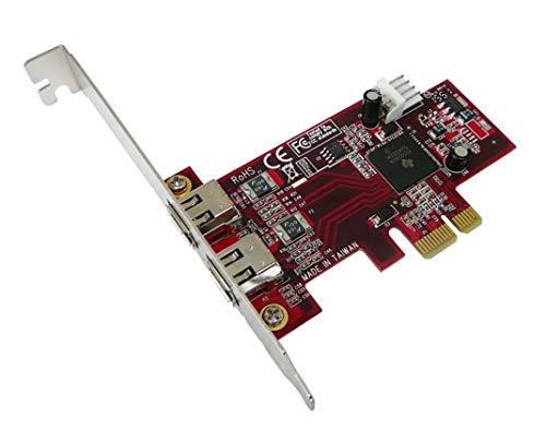 KALEA-INFORMATIQUE-Tarjeta controladora PCIe FIREWIRE