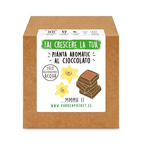 Garden Pocket - Fai crescere la tua Pianta Aromatic al CIOCCOLATO - Kit di germinazione