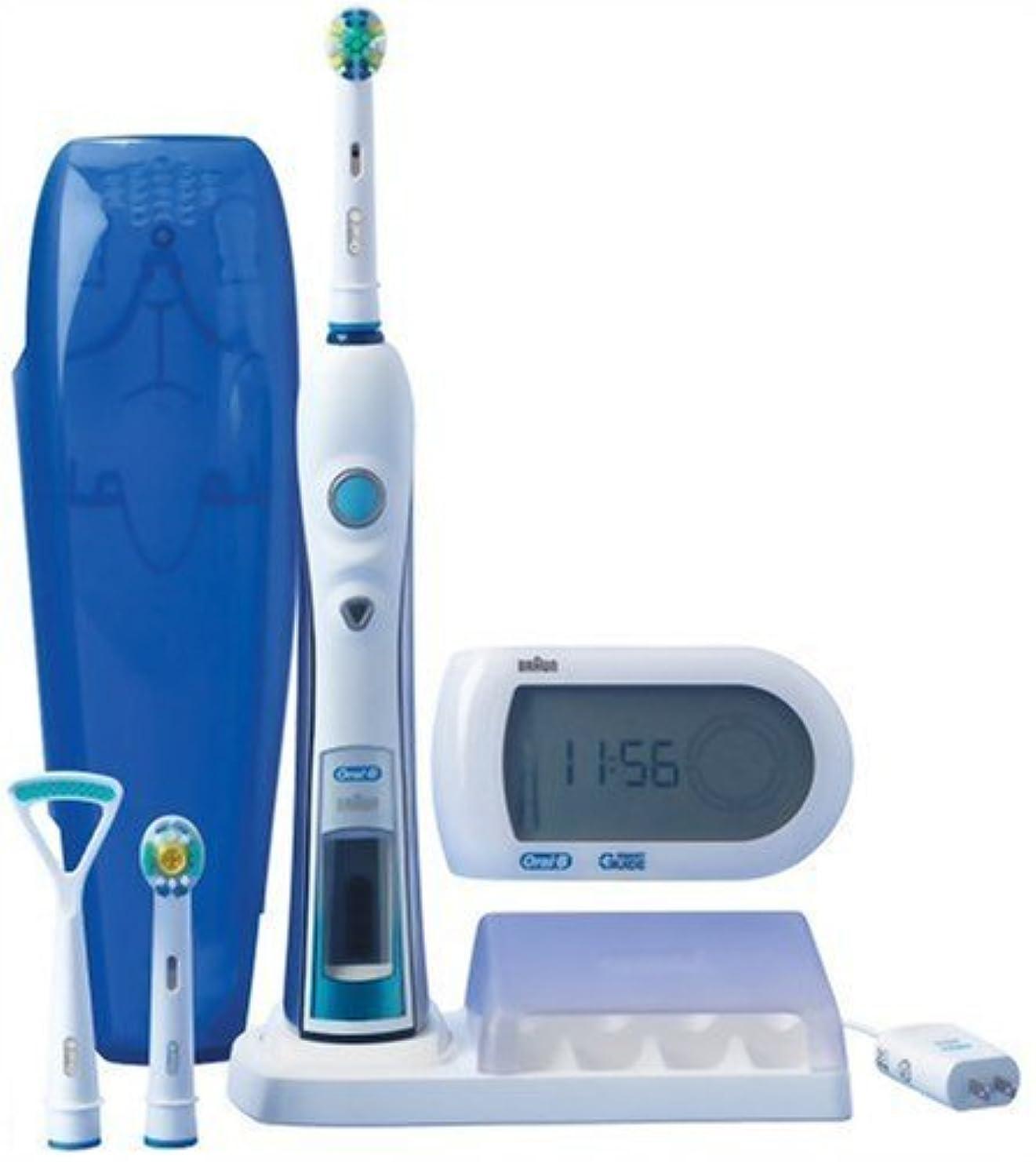 めまい姪手のひらブラウン オーラルB 電動歯ブラシ 多機能ハイグレードモデル 歯磨きナビ付 D325365X