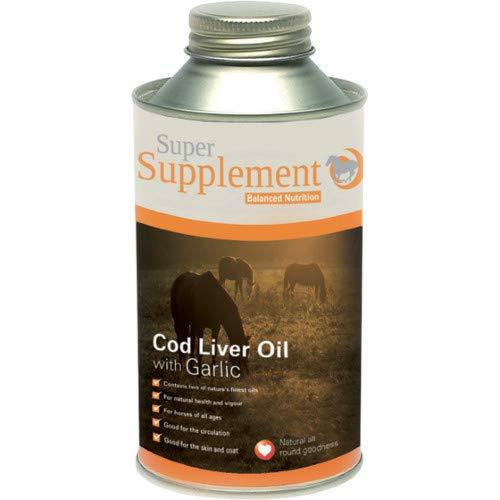 Super Codlivine Cod Liver with Garlic Health Supplement 5L Clear