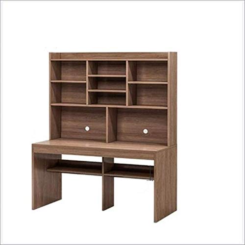 Lesbye Study Desk and Bookcase Integrated Writing Desk,2,120 * 60cm