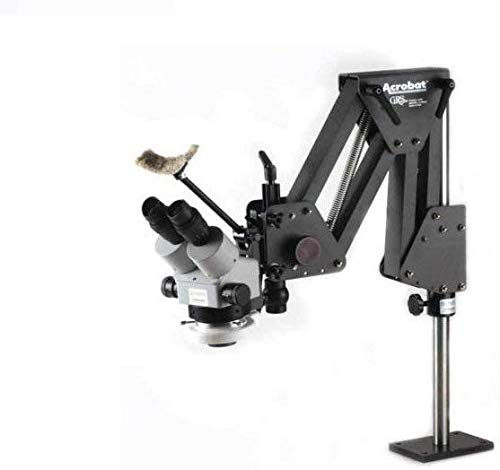 EuroTech Setters Microscope with GRS 003-630 Acrobat Stand and EuroTech LED Light
