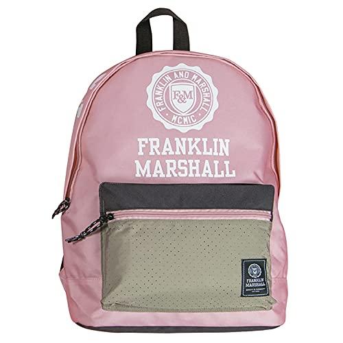 Senfort Franklin & Marshall D-Pack 2 scomparti e zaino da tasca anteriore, 44 cm larghezza x 30 cm altezza x 18 cm altezza, rosa