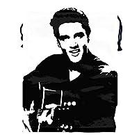 Elvis Presley エルヴィスプレスリー (1) 束口袋 多機能 プールバッグ 防水衣類収納ポーチ 旅行袋 衣類 靴 下着 収納ケース人気 超軽量 運動 出張用 シンプル収納袋
