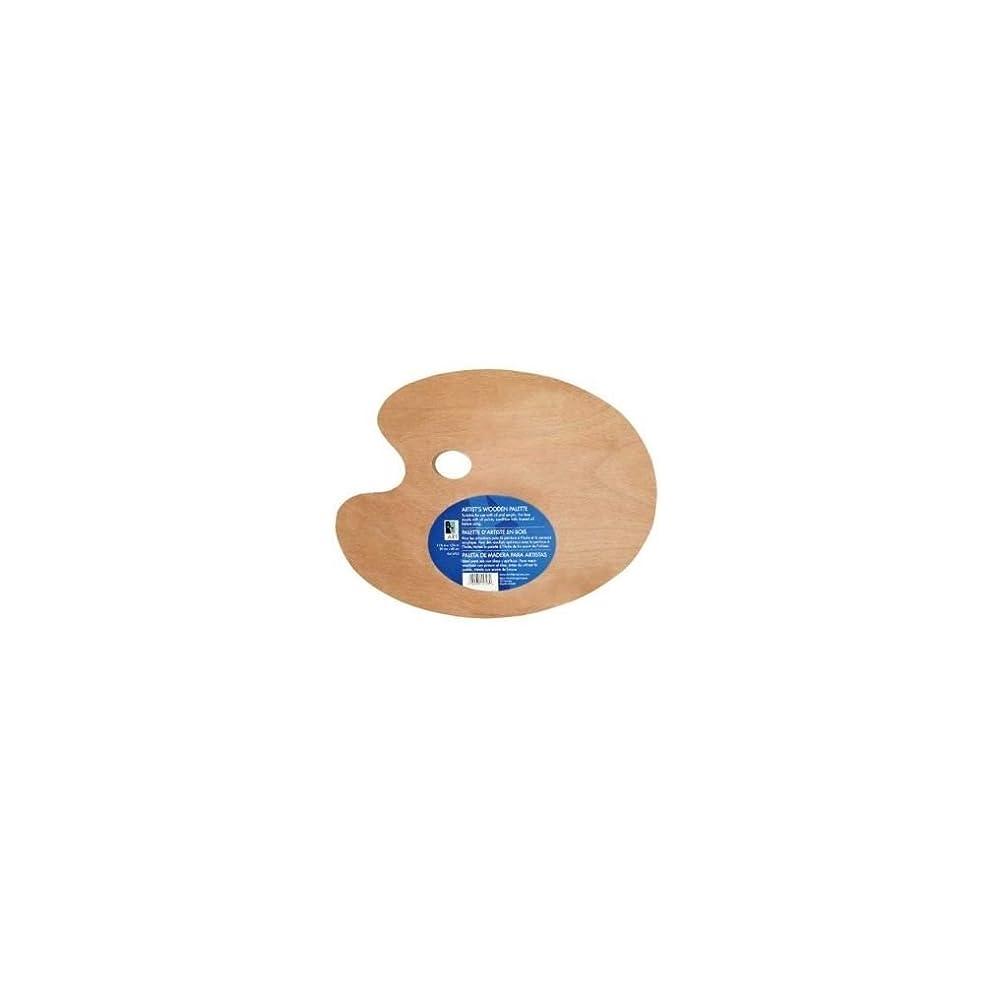 Wooden Palette 11.75x15.75 Oval