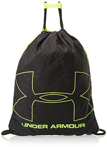 Under Armour UA Ozsee Sackpack, Zaino Unisex Adulto, Giallo (High-Vis Yellow/Black 732), Taglia Unica