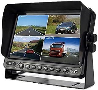 "$236 » BOYO VISION VTM9003QFHD - 9"" AHD CVBS Quad Full HD Monitor with Built-in DVR (4 Channel), Black"