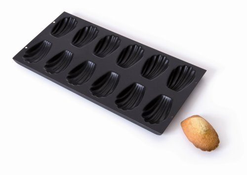 Mauviel1830 - M'Passion Tôle 711214 - Plaque à madeleine acier - 12 madeleines