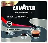 Lavazza Perfetto Espresso Café moulu Intensité 6 100% Arabica - 2 paquets de 250 g...